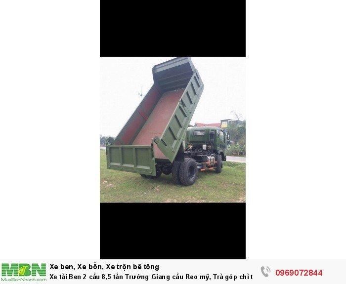 Xe tải Ben 2 cầu 8,5 tấn Trường Giang cầu Reo mỹ, Trả góp chỉ từ 220 triệu, Giao xe ngay 2