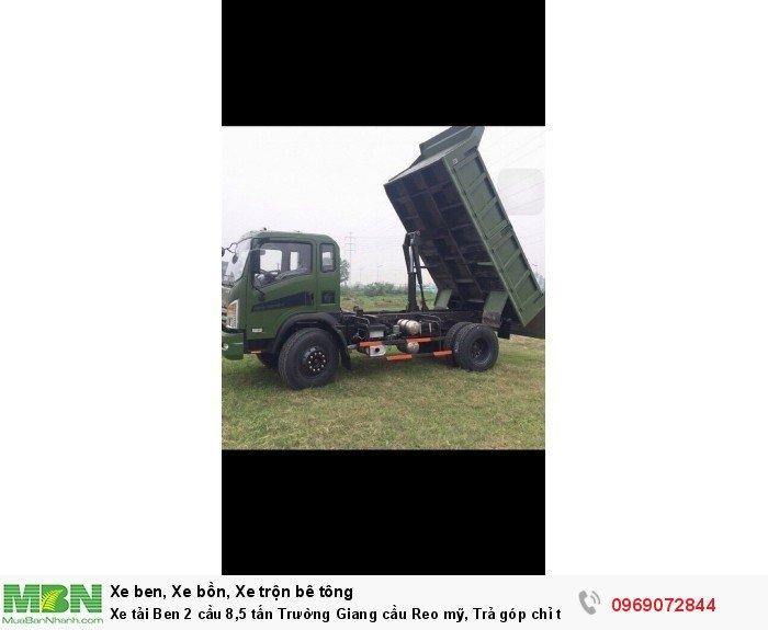 Xe tải Ben 2 cầu 8,5 tấn Trường Giang cầu Reo mỹ, Trả góp chỉ từ 220 triệu, Giao xe ngay 3