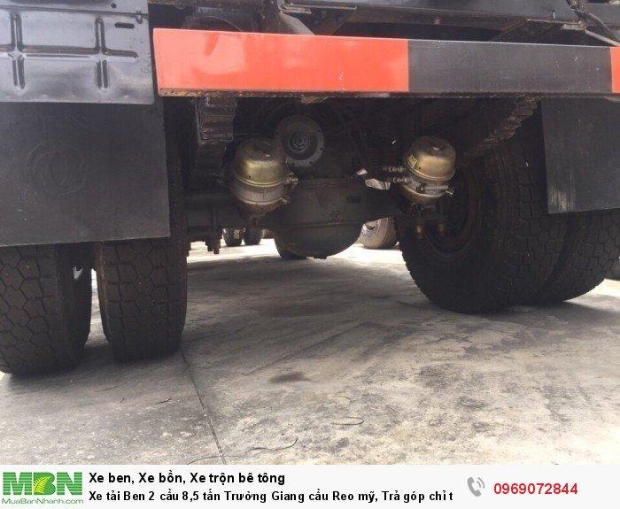 Xe tải Ben 2 cầu 8,5 tấn Trường Giang cầu Reo mỹ, Trả góp chỉ từ 220 triệu, Giao xe ngay 4