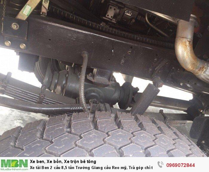 Xe tải Ben 2 cầu 8,5 tấn Trường Giang cầu Reo mỹ, Trả góp chỉ từ 220 triệu, Giao xe ngay 7