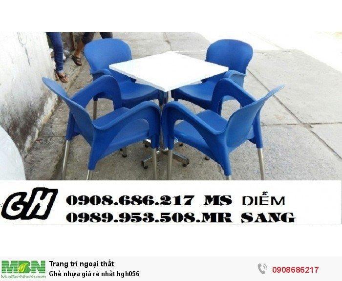 Ghế nhựa giá rẻ nhất hgh0562