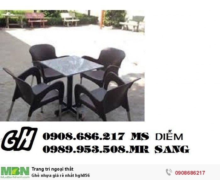 Ghế nhựa giá rẻ nhất hgh0566