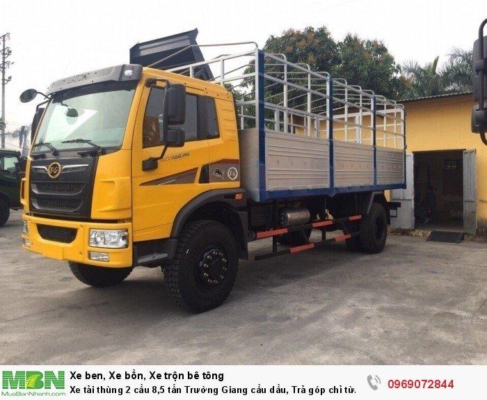 Xe tải thùng 2 cầu 8,5 tấn Trường Giang cầu dầu, Trả góp chỉ từ 210 triệu, Giao xe ngay