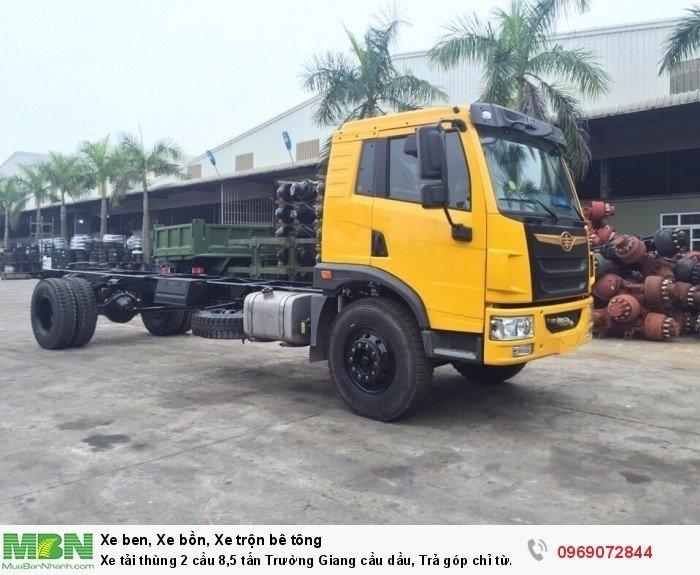 Xe tải thùng 2 cầu 8,5 tấn Trường Giang cầu dầu, Trả góp chỉ từ 210 triệu, Giao xe ngay 6