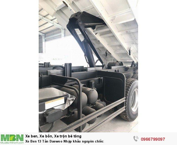 Xe Ben 13 Tấn Daewoo Nhập khẩu nguyên chiếc
