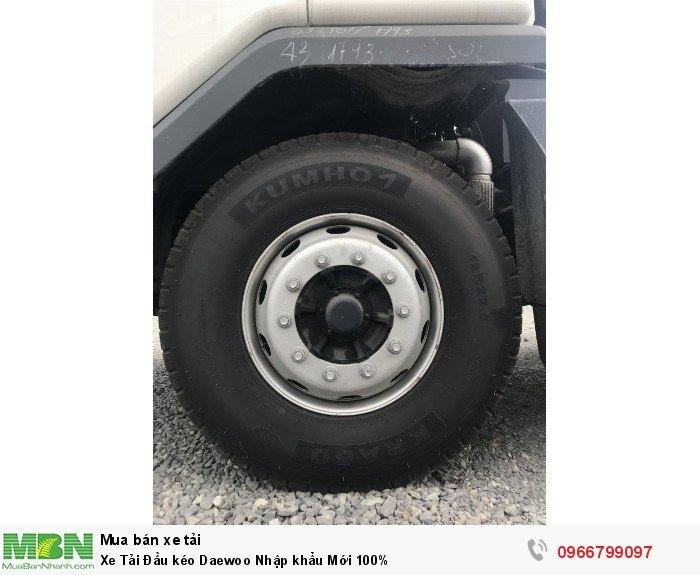 Xe Tải Đầu kéo Daewoo Nhập khẩu Mới 100%