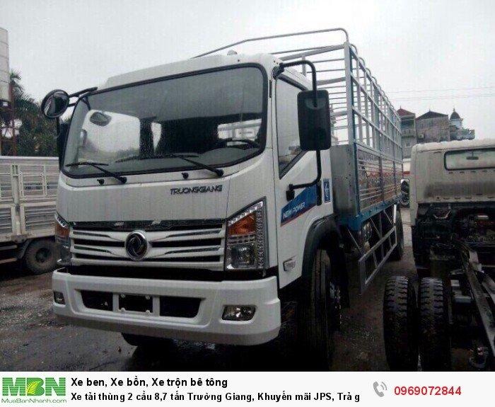 Xe tải thùng 2 cầu 8,7 tấn Trường Giang, Khuyến mãi JPS, Trả góp chỉ từ 190 Triệu 3
