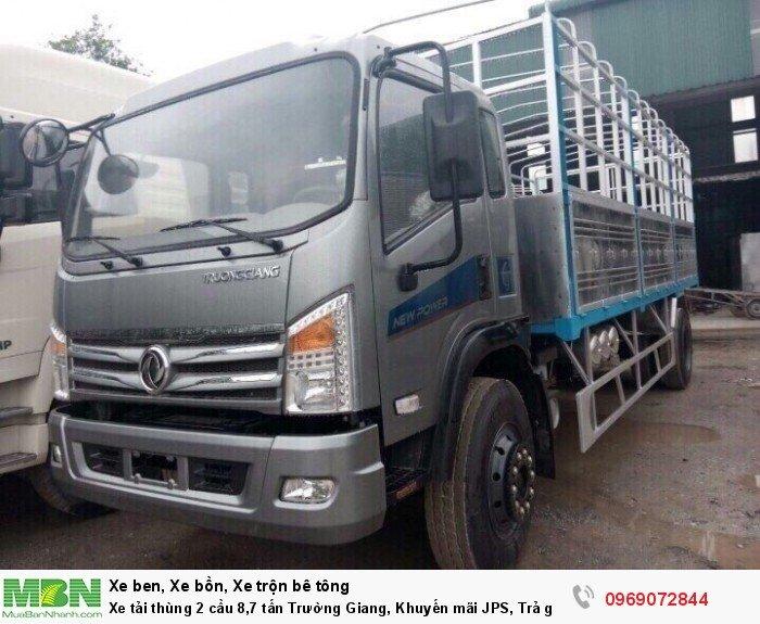 Xe tải thùng 2 cầu 8,7 tấn Trường Giang, Khuyến mãi JPS, Trả góp chỉ từ 190 Triệu 5