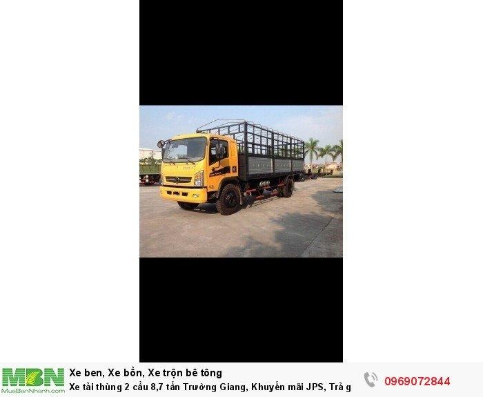 Xe tải thùng 2 cầu 8,7 tấn Trường Giang, Khuyến mãi JPS, Trả góp chỉ từ 190 Triệu 6
