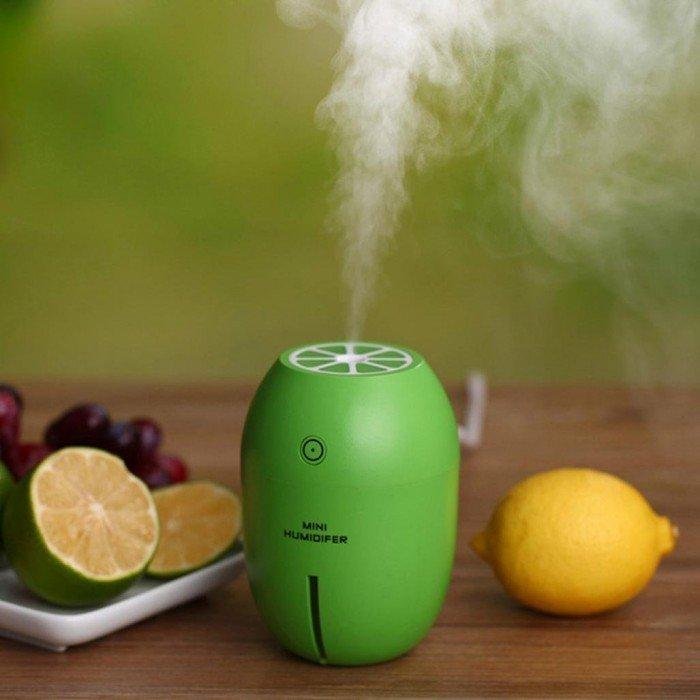 Máy phun sương tinh dầu Quả chanh kiêm đèn ngủ Lemon Humidifier3