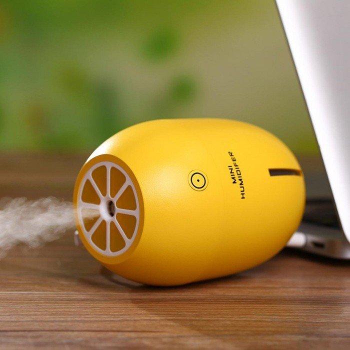 Máy phun sương tinh dầu Quả chanh kiêm đèn ngủ Lemon Humidifier1