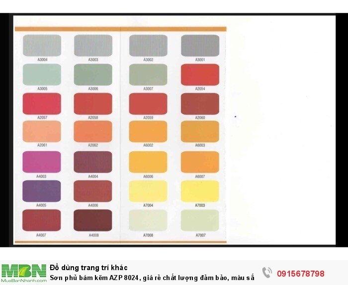 Sơn phủ bám kẽm AZP 8024, giá rẻ chất lượng đảm bảo, màu sắc đa dạng, sơn công nhiệp3