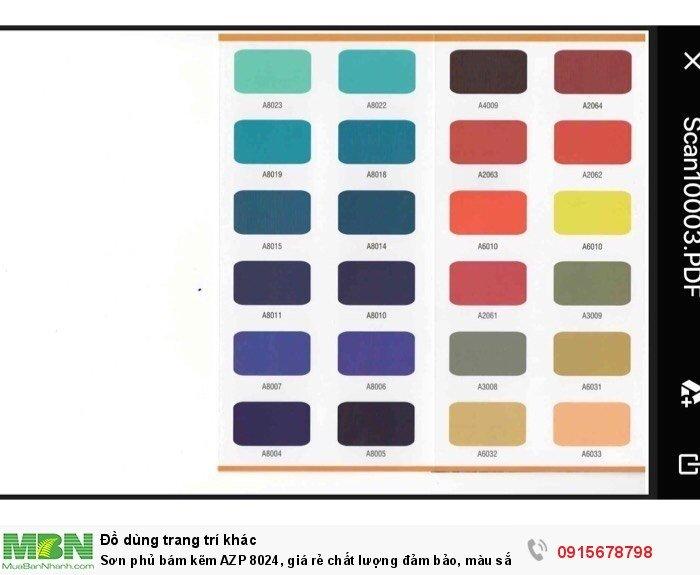 Sơn phủ bám kẽm AZP 8024, giá rẻ chất lượng đảm bảo, màu sắc đa dạng, sơn công nhiệp4