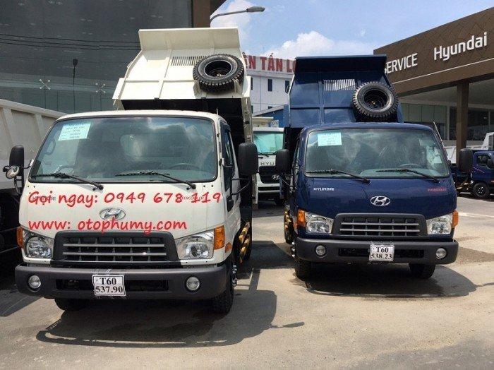 Ô tô tải ben Hyundai HD65 nhập khẩu 3 cục giá rẻ nhất miền nam