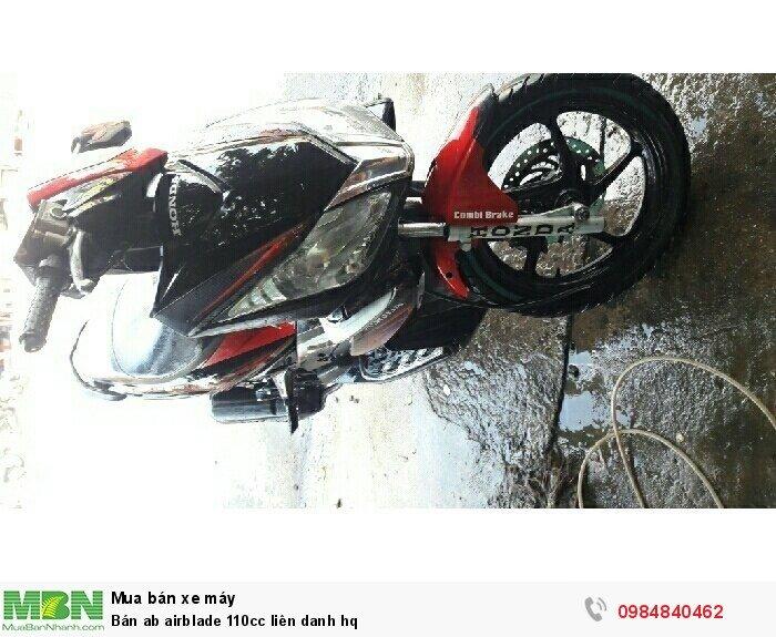 Bán ab airblade 110cc liên danh hq