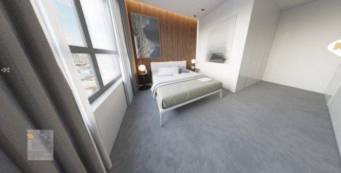 Bán căn hộ Milennium mặt tiền Bến Vân Đồn Q4, 3PN 107M2,view bitexco.