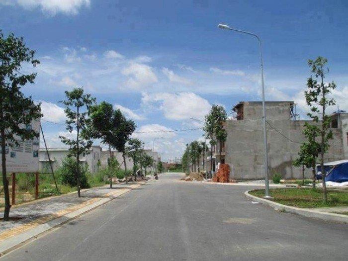 Bán đất liền kề chợ Phú Hữu, Quận 2, phường Bình Trưng Đông, sổ sách đầy đủ, thổ cư 100