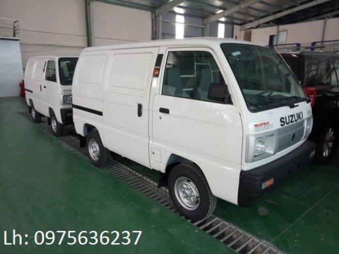 Cần bán xe tải Van- suzuki blind van tiêu chuẩn EURO 4 khuyến mại 100% thuế TB.
