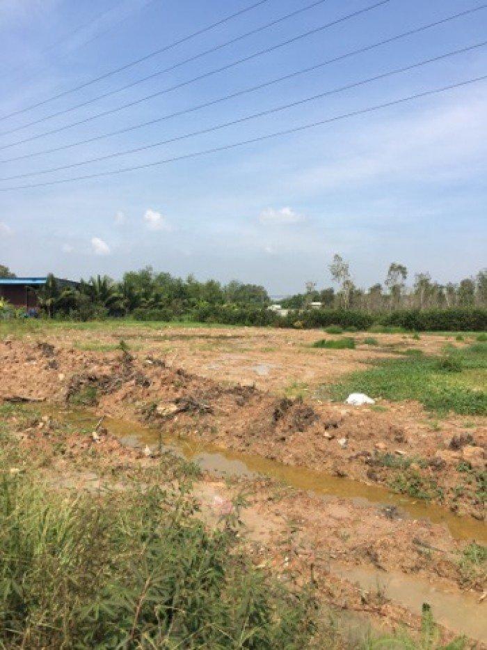 Bán  đất xưởng củ chi giá rẻ xã Bình mỹ MT võ văn Bích đất đã san lấp mặt Bằng