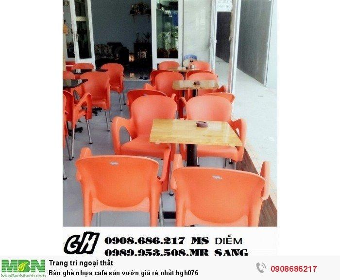 Bàn ghế nhựa cafe sân vườn giá rẻ nhất hgh0762