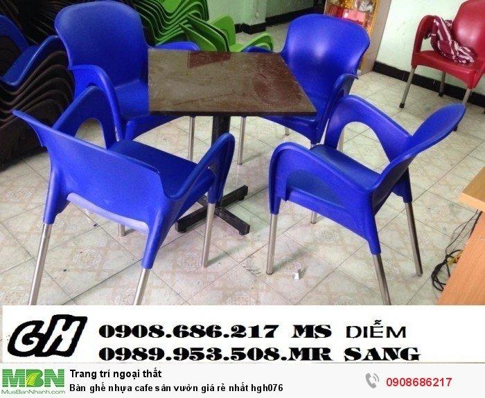 Bàn ghế nhựa cafe sân vườn giá rẻ nhất hgh0766