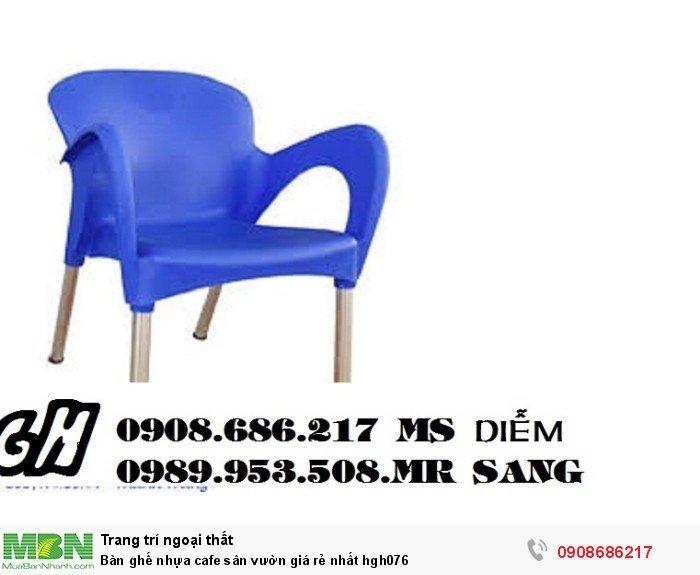 Bàn ghế nhựa cafe sân vườn giá rẻ nhất hgh0768