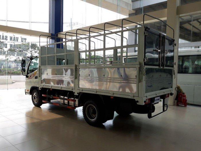 Tại sao mua Xe tải Thaco Ollin360 2tấn4, thùng dài 4m3, động cơ CN Isuzu giá rẻ nhất. Xe Thaco bảo hành