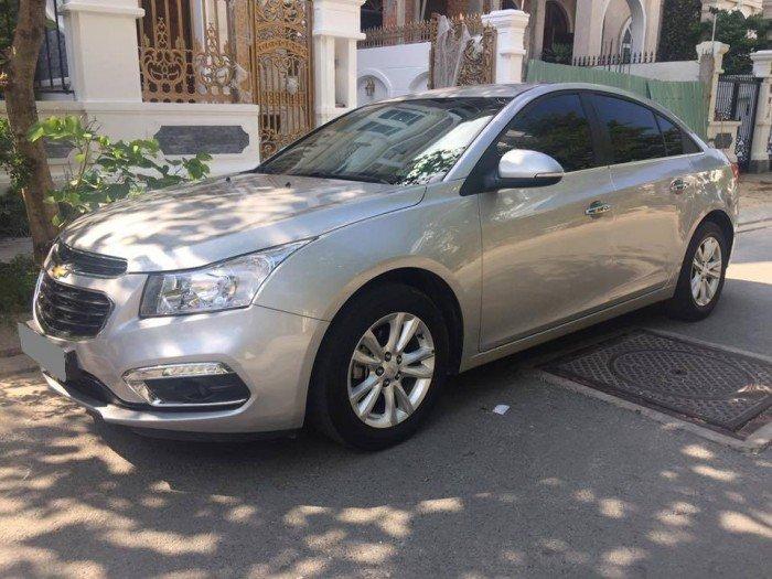 Xây nhà cần bán Chevrolet Cruze 2016 bạc số sàn xe đi giữ kỹ đẹp. 6