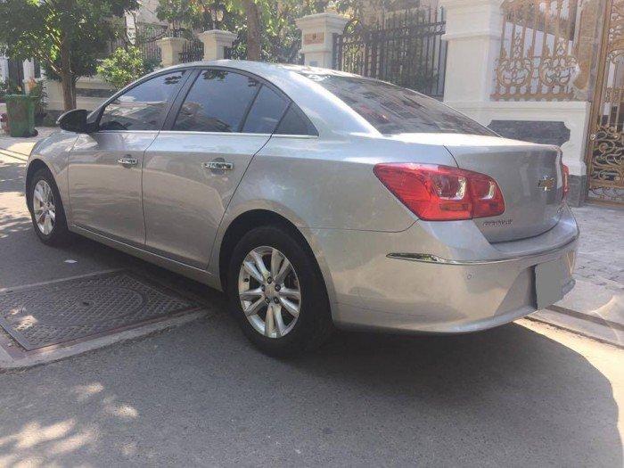 Xây nhà cần bán Chevrolet Cruze 2016 bạc số sàn xe đi giữ kỹ đẹp. 4