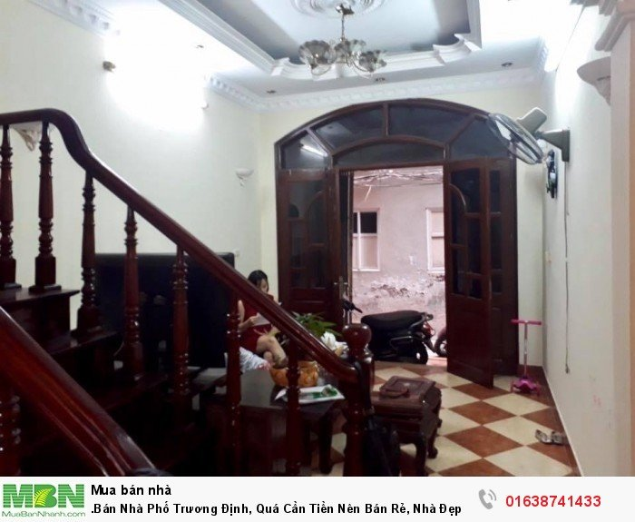 .Bán Nhà Phố Trương Định, Quá Cần Tiền Nên Bán Rẻ, Nhà Đẹp, 5 Tầng