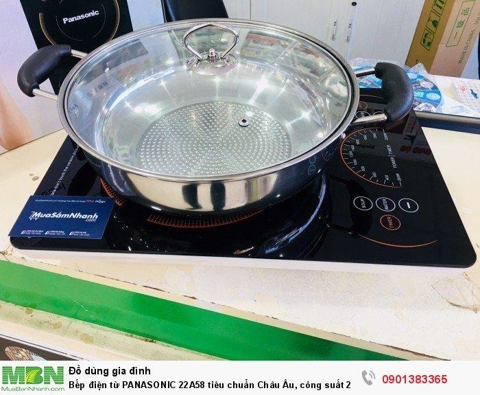 - Bếp từ panasonic có chế độ tự ngắt khi quá tải, khi máy có nhiệt độ cao th...