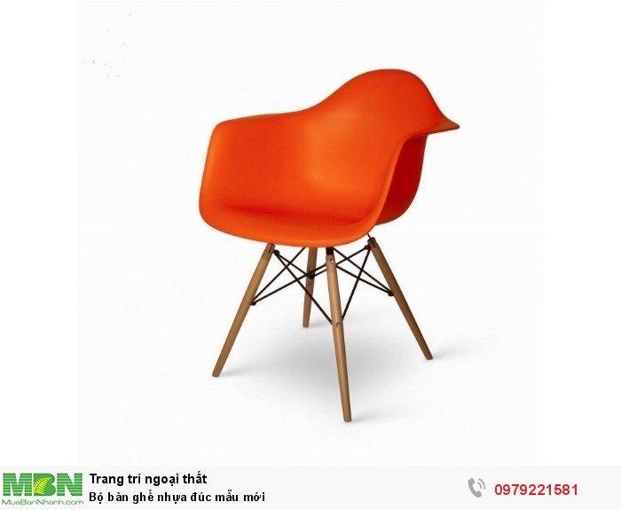 Bộ bàn ghế nhựa đúc mẫu mới3
