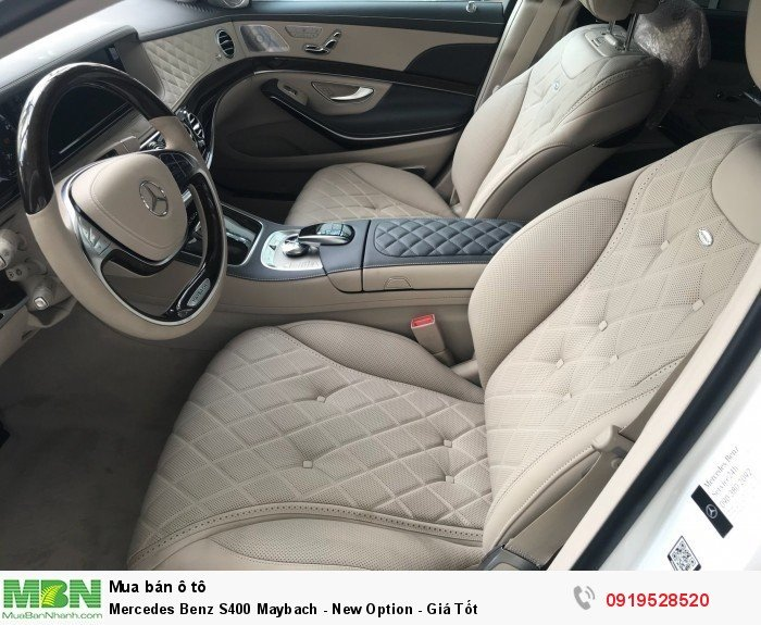 Mercedes Benz S400 Maybach - New Option - Giá Tốt