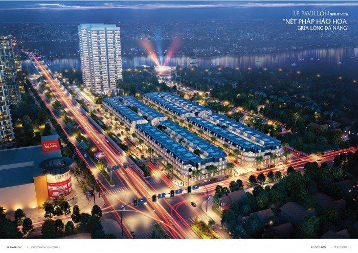 Le Pavillon, khu phố thương mại hạng sang bậc nhất trung tâm quận Hải Châu, Đà Nẵng.
