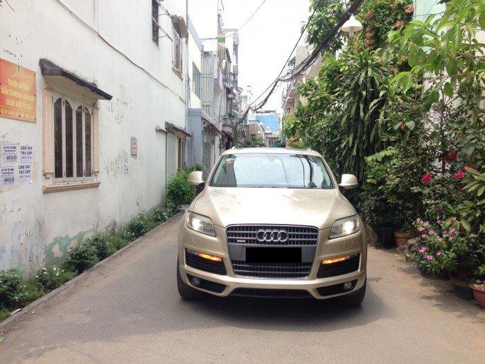 Audi Q7 sản xuất năm 2009 Số tự động Động cơ Xăng
