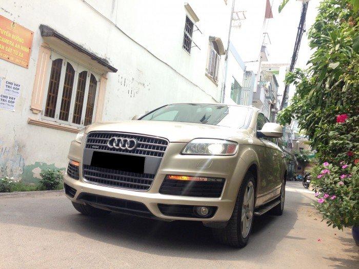 bán xe Audi Q7 4.2at 2009 màu vàng cát