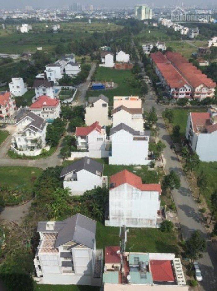 Bán lô đất nền biệt thự View sông, 2 mặt tiền đường,trong KDC CONIC, DT: 308m2, sổ đỏ.