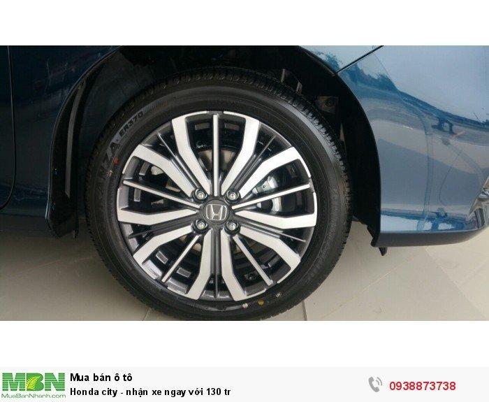 Honda city - nhận xe ngay với 130 tr 2