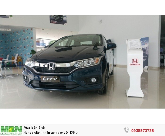 Honda city - nhận xe ngay với 130 tr 4