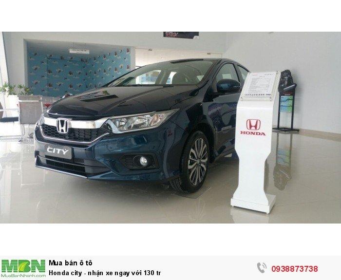 Honda city - nhận xe ngay với 130 tr 7