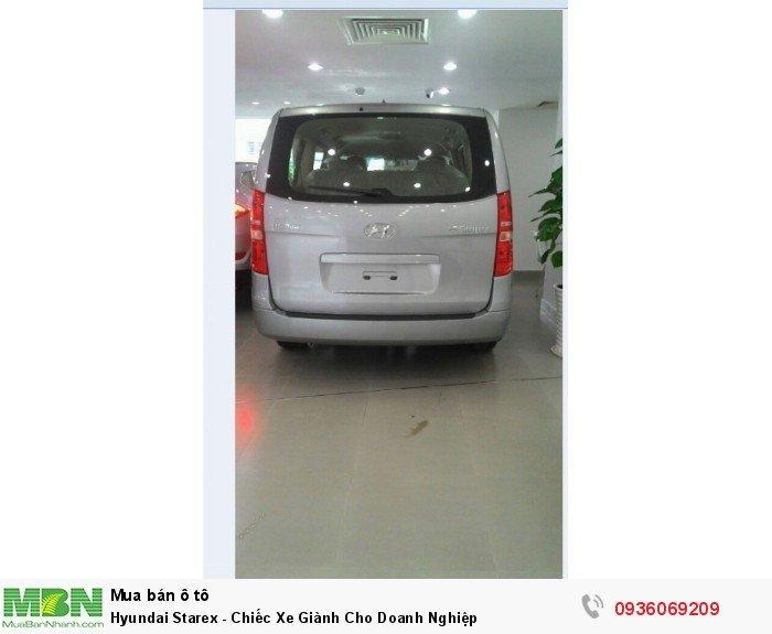 Hyundai Starex - Chiếc Xe Giành Cho Doanh Nghiệp 1