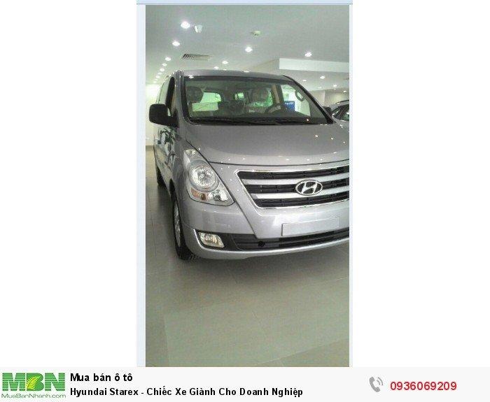 Hyundai Starex - Chiếc Xe Giành Cho Doanh Nghiệp 2
