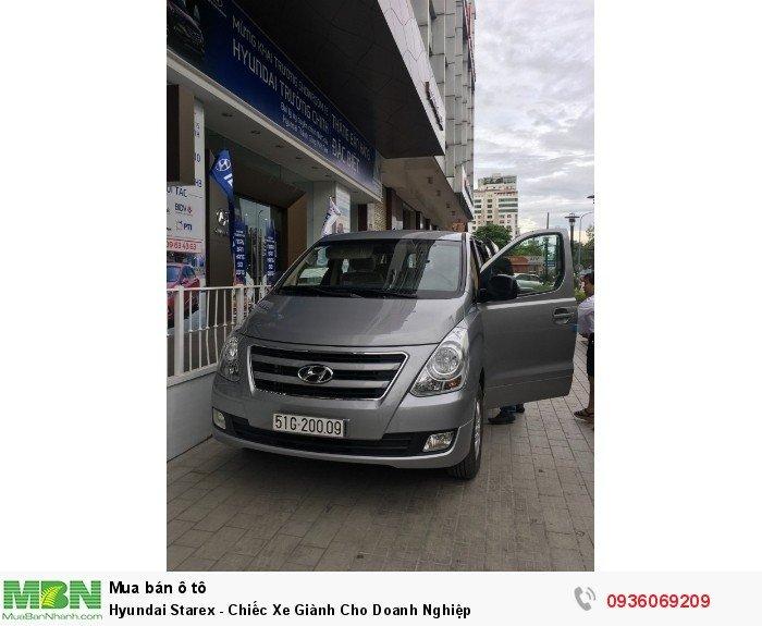 Hyundai Starex - Chiếc Xe Giành Cho Doanh Nghiệp 8