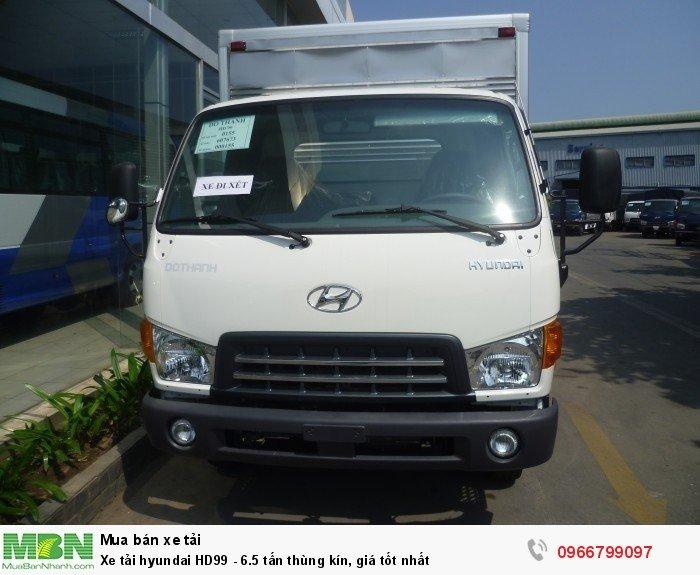 Xe tải hyundai HD99 - 6.5 tấn thùng kín, giá tốt nhất