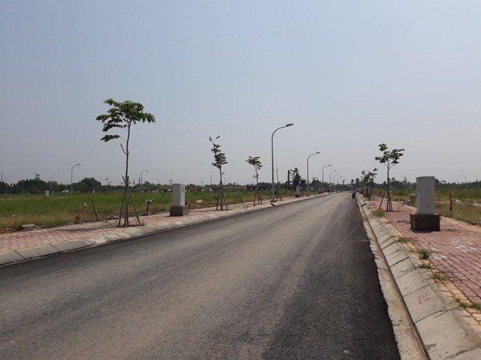 Đất nền cách Phú Mỹ Hưng 15 phút, giá 7,7 tr/m2 mặt tiền đuờng 30m