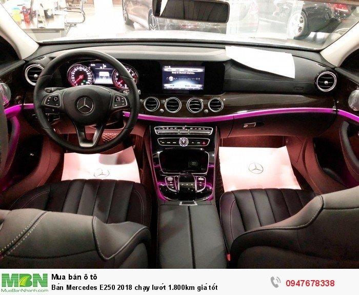 Bán Mercedes E250 2018 chạy lướt 1.800km giá tốt