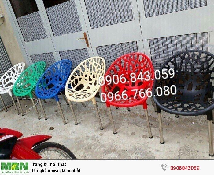 Bàn ghế nhựa giá rẻ nhất1