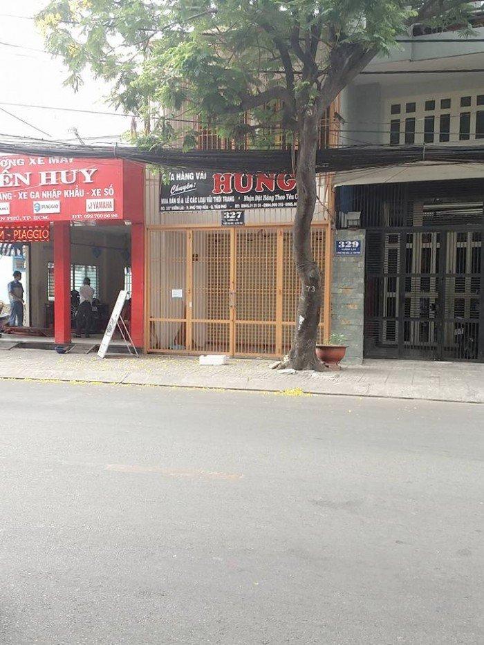 Chính chủ cần bán gấp nhà MTKD 327 Vườn Lài.  - diện tích 4x18m