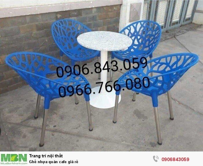 Ghế nhựa quán cafe giá rẻ1