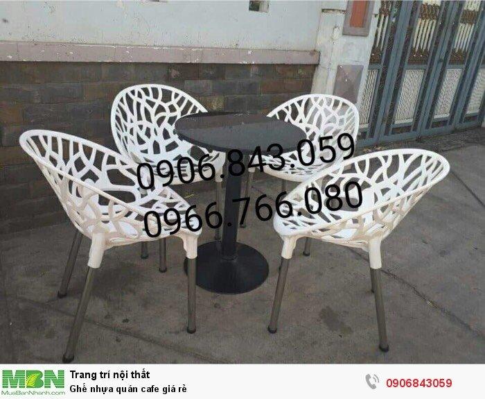 Ghế nhựa quán cafe giá rẻ4